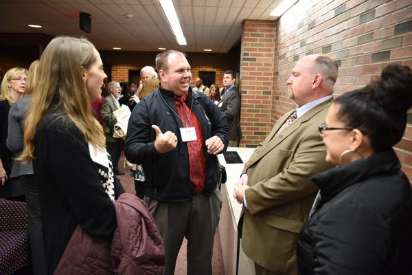 UConn Neag Leadership Forum on November 1, 2016.