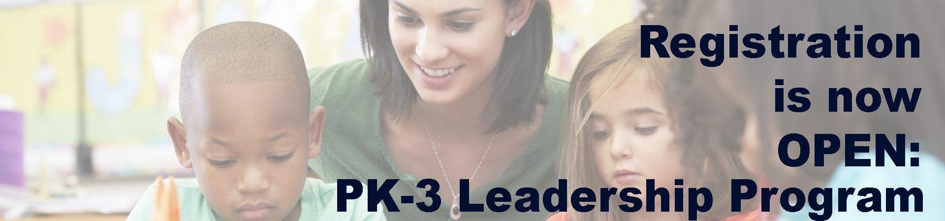 UCAPP PK3 Leadership Program Flyer.