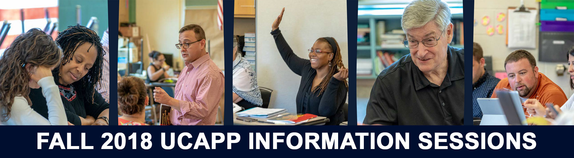 UCAPP Info Sessions, Fall 2018